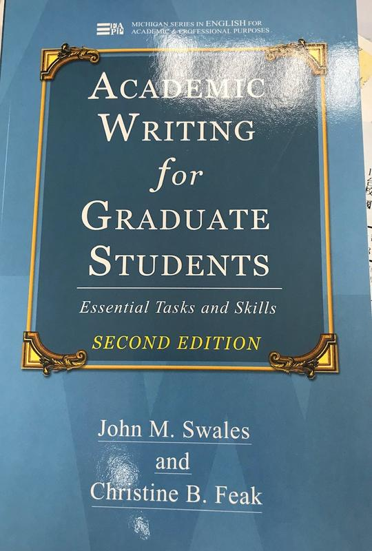 《Academic writing for graduate students 2/E : essential task
