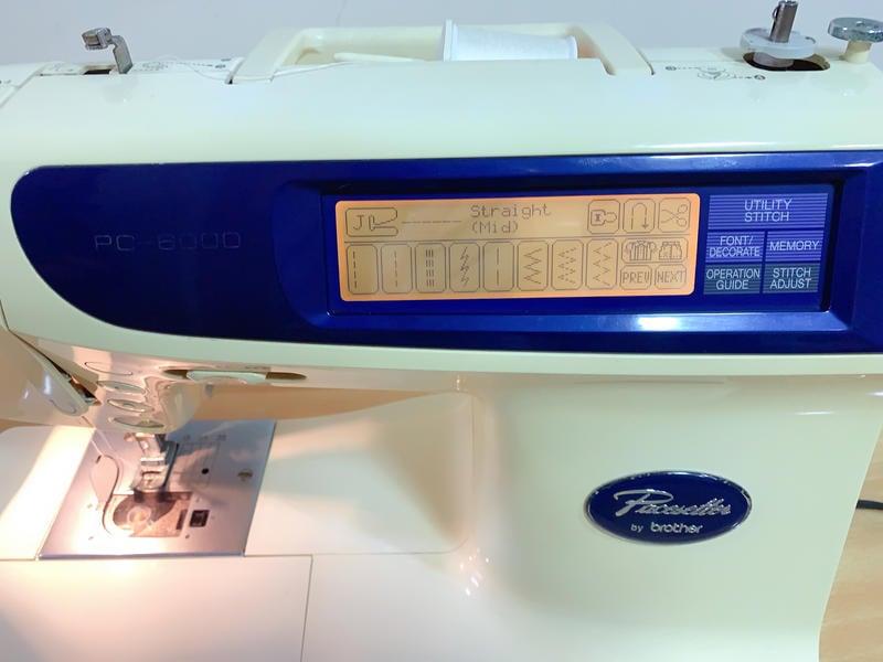 brother 兄弟牌PC-6000 電腦縫紉機 陳列機