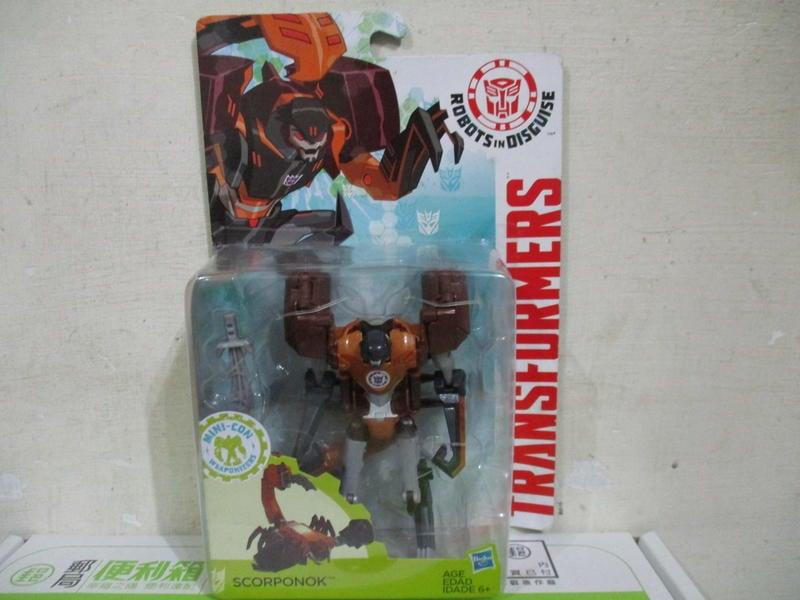 戰隊密卡登柯博文大黃蜂變形金剛領袖的挑戰豪華戰將D級Scorponok薩克撒克巨人巨蠍蠍子四佰五一元起標45 1元起標