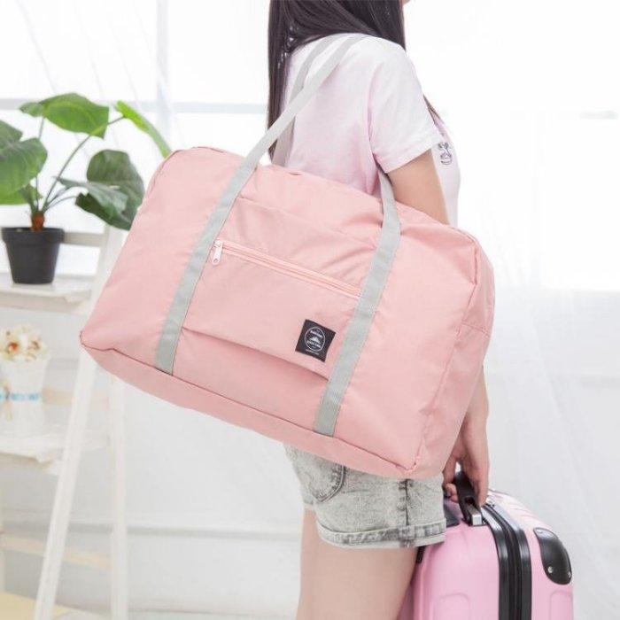 旅行包_可折疊旅行包手提行李袋女大容量登機包短途出差袋男防水套拉桿箱