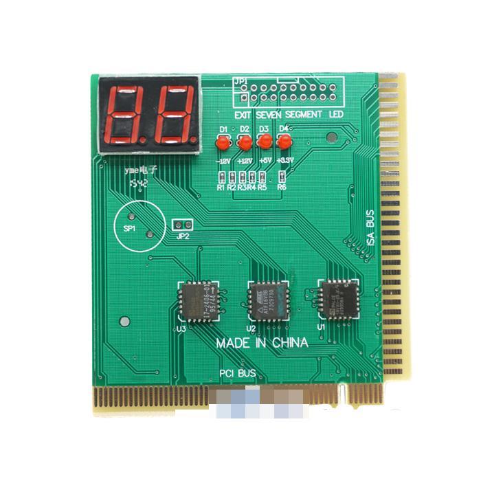 2位電腦診斷卡 主板測試卡 電腦故障診斷卡 檢測卡 DEBUG w56  056 [9000164]