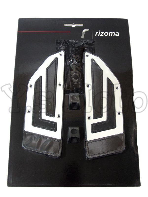 Y.S Rizoma  ZYF035A 鋁合金後腳踏板/後腳踏飾板/腳踏墊 YAMAHA TMAX530 17-