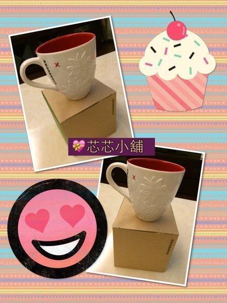 全新現貨--星巴克 Starbucks--2013年白色耶誕馬克杯  ( 附紙袋&紙盒)