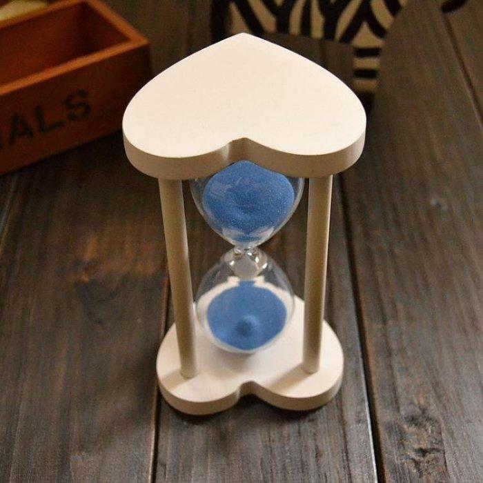 30分鐘沙漏計時器木質創意情人節生日愛情交換禮物圣誕節禮品_