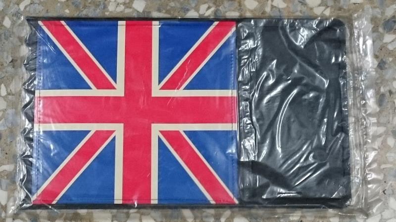 絕版英國旗 後擋泥板 土除尾-- 懷舊 摩德  偉士 英倫