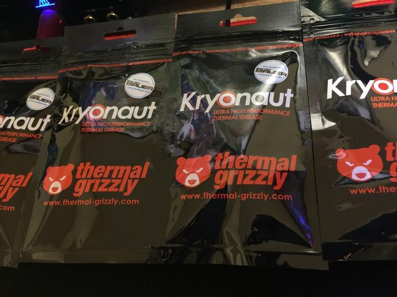 【肯瑞PC特裝】KRYONAUT Thermal Grizzly 暴力熊 頂級散熱膏 超越MX-4 1g 現貨