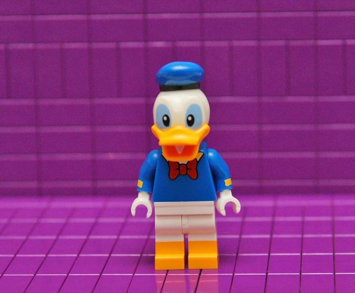 [樂高人偶]迪士尼系列_71040_Donald Duck 265