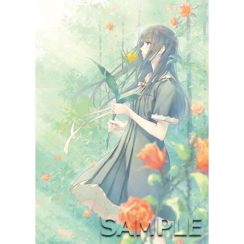 ■預購■『官網』通販|百合展2020『FLOWERS』A4資料夾。