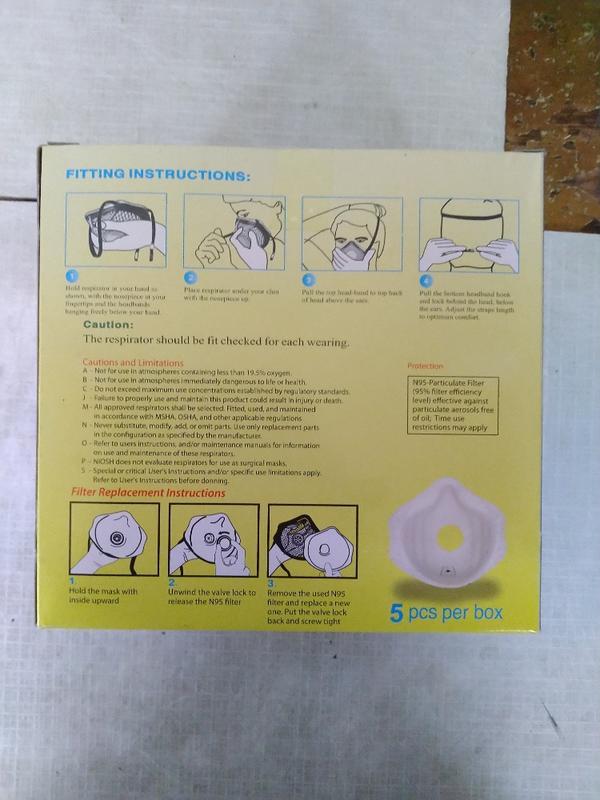 藍鷹牌F810I工業防塵口罩