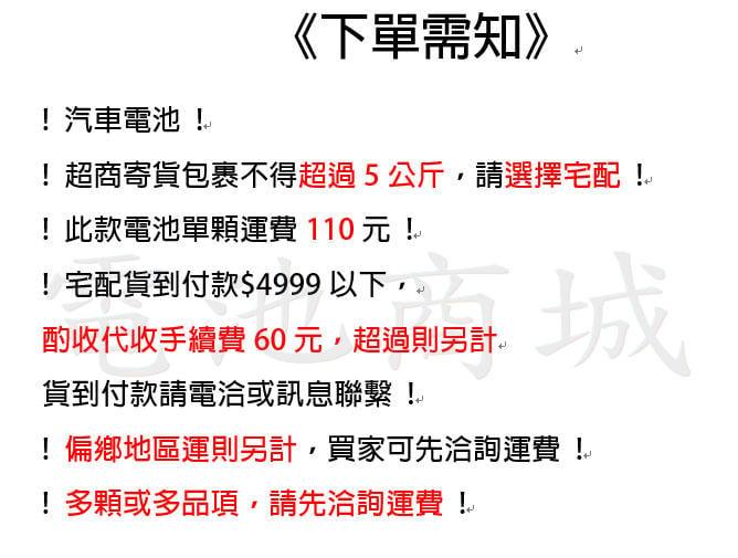 《電池商城》全新 愛馬龍 AMARON 銀合金汽車電池 DIN55 (56219 56220可用)