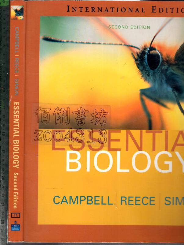佰俐O《ESSENTIAL BIOLOGY 2E 1CD》2004-CAMPBELL-032120462X