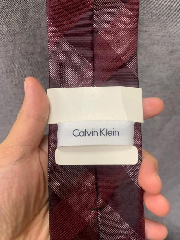 Calvin Klein 紅色 領帶 全新品