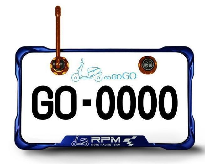 【優購愛馬】 RPM 小七碼牌框天線螺絲組 GOGORO2 SMAX FROCE 勁戰 BWS JETS 雷霆S VJR