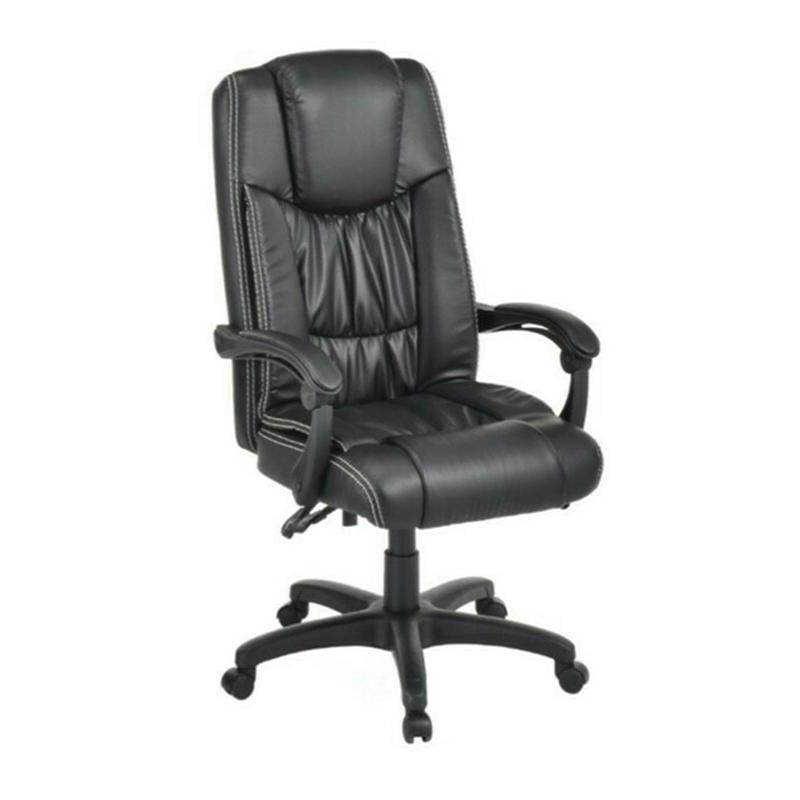 【在地人傢俱】19 達達購-黑色皮辦公椅/電腦椅/升降椅 KDY SC-8846