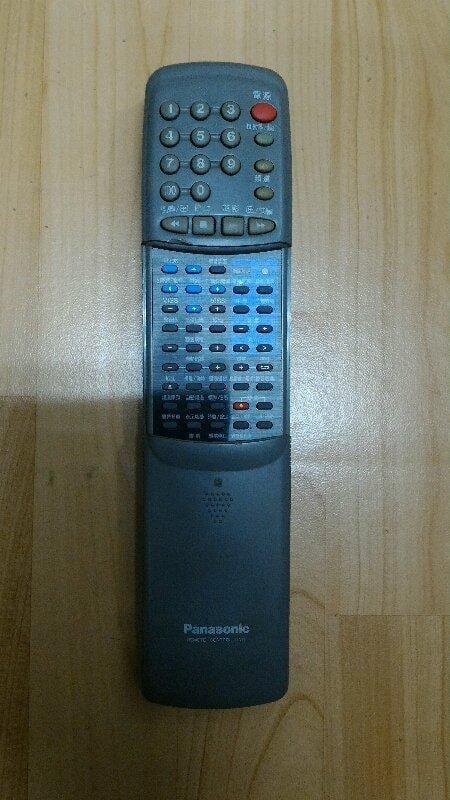 國際牌卡拉ok錄影帶機遙控器
