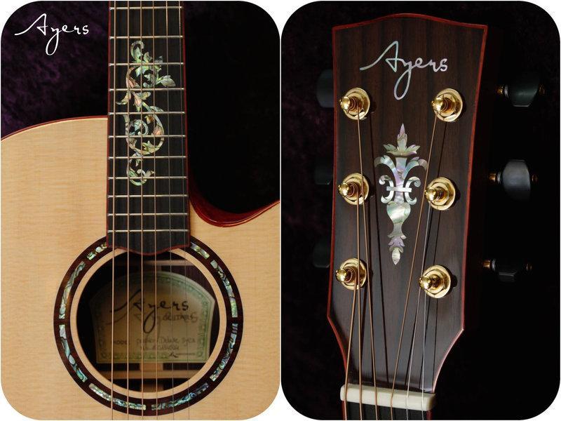 【又昇樂器 . 音響】Ayers Passion Deluxe 20週年紀念 全單板 木吉他/民謠吉他 含原廠硬盒