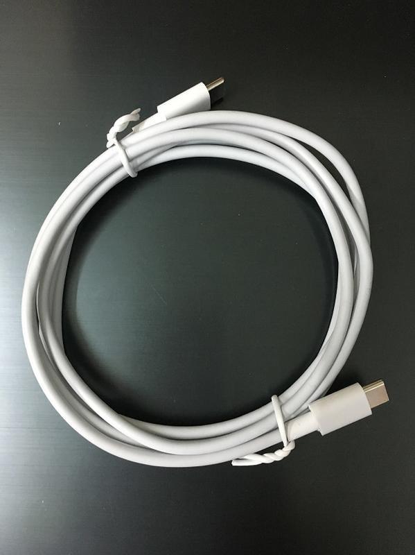 雙頭type-c數據線 PD 公對公 快充線 約1.8米 適用于macbook谷歌pixel2 XL 過4A