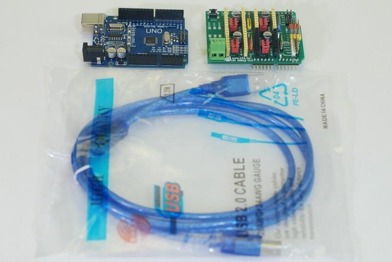 E2D DIY Cyclone PCB 電路板 雕刻機 CNC 控制板套件