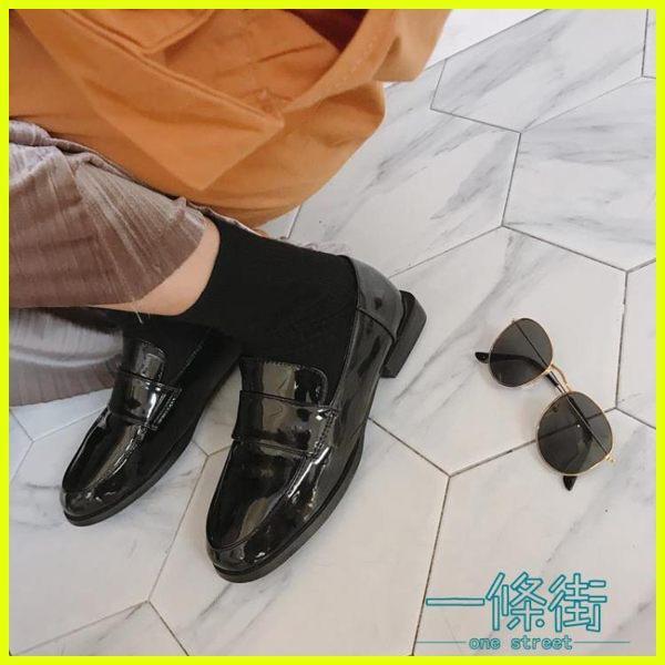 999小舖英倫風女鞋黑色小皮鞋女生秋季潮百搭韓版學院風原宿軟