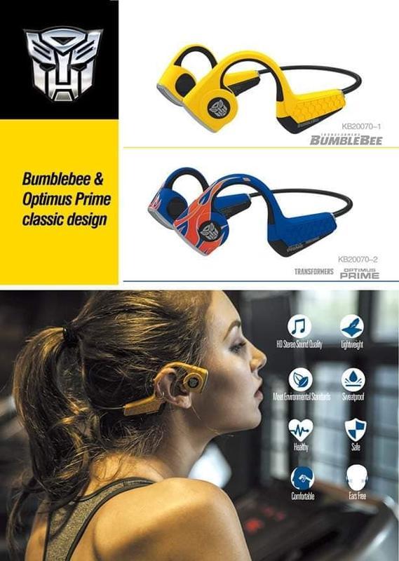 【賴皮安弟】現貨+預購 killerbody 骨傳導耳機  KB20070-1大黃蜂/KB20070-2 柯博文