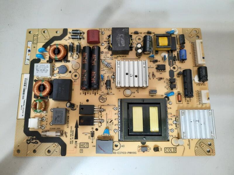 聲寶EM-42FT08D,46FT08D電源板40-E371C0-PWH1XG,有現貨~350元