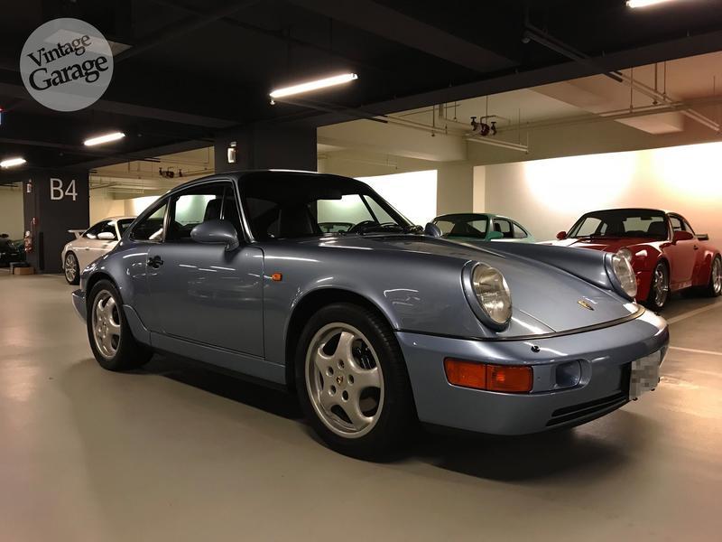 老車庫售://已售出//1993 Porsche 964 Carrera(正牌)