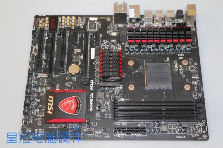 詢價: MSI/微星 970 GAMING AM3+主機板 殺手網卡 FX8350