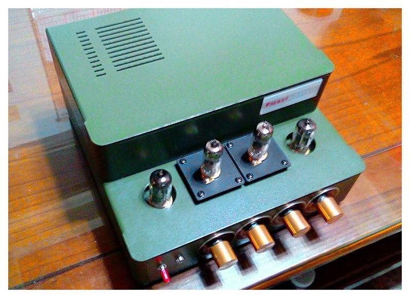 DIY 真空管 三音路 電子分音器 主動式電子分音器---