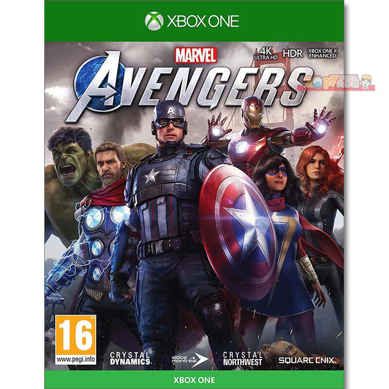 全新未拆 XBOX ONE 漫威復仇者聯盟 中文亞版 Marvel Avengers 浩克 雷神索爾 鋼鐵人 黑寡婦