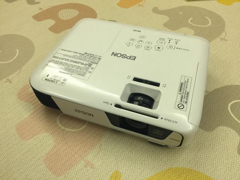 二手投影機 EPSON EB-X31 數位投影機