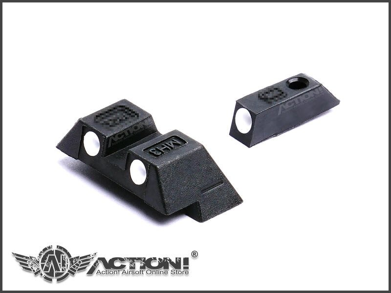 【Action!】現貨)VFC/Umarex - GLOCK準星照門組(G19X、Gen4/G17Gen5/G45)