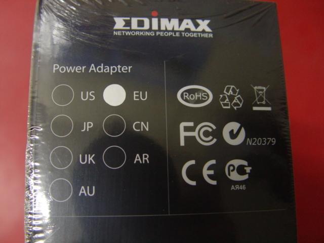 新品 未拆封 出清 訊舟 Edimax  CV-7428NS 無線網路寬頻 分享器   EU版 附電源萬轉接頭
