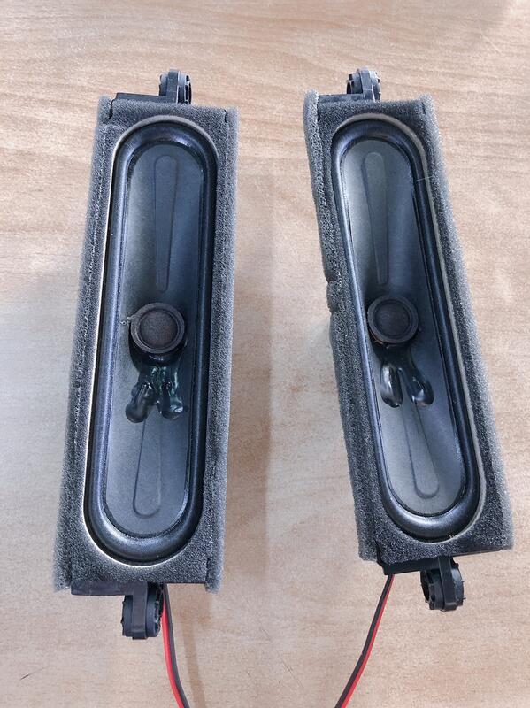 BENQ 明基 55JM700 液晶顯示器 喇叭 電視喇叭 拆機良品 0