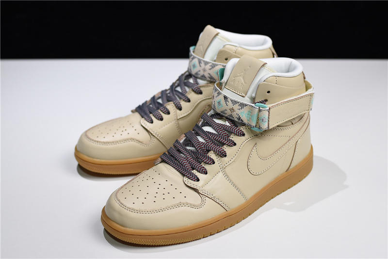 35bed33d9099 Nike Air Jordan 1 Retro High Strap N7 AJ1 卡其慈善AR4410-207 - 露天拍賣