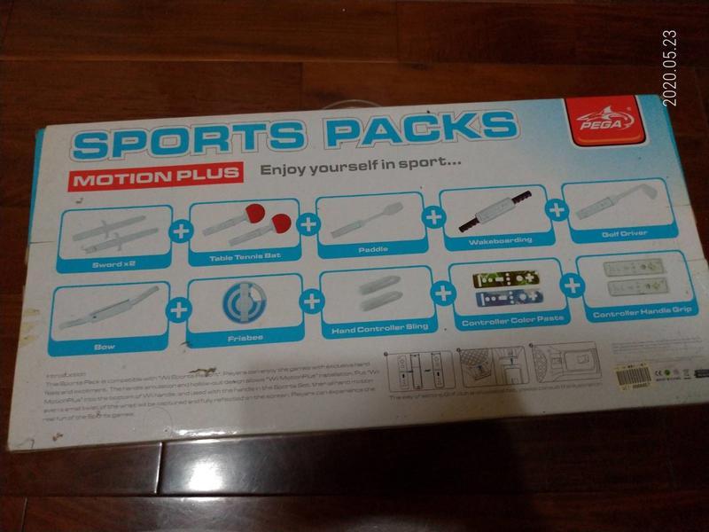Wii sport 15 in 1把手配件,九成新,只賣200元