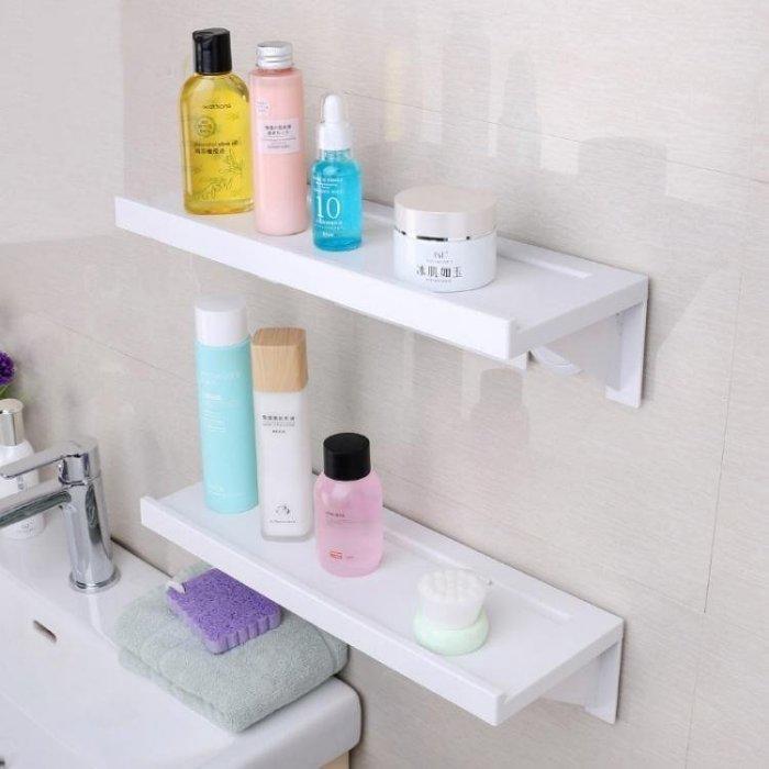 居家家浴室吸盤置物架衛生間免打孔層架廁所壁掛架子洗漱架收納架