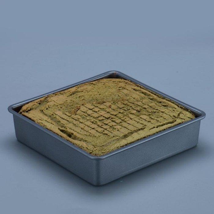 方形蛋糕模餅干模披薩烤盤不沾烘焙模具8寸10寸
