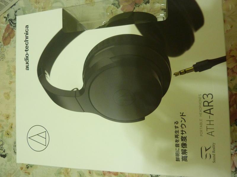 日本鐵三角 ATH-AR3 Audio-technica  可折疊式耳罩式耳機 黑色 全新未拆封
