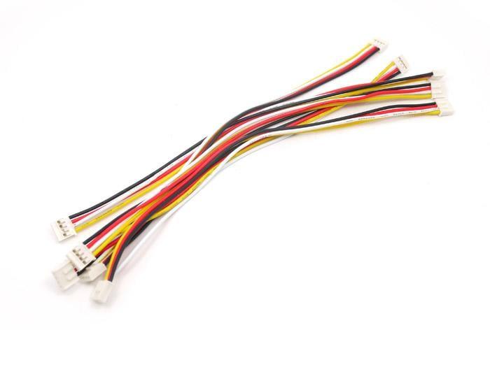 MakeHub含稅 Grove - Universal 4 Pin 20cm Unbuckled Cable (5件)