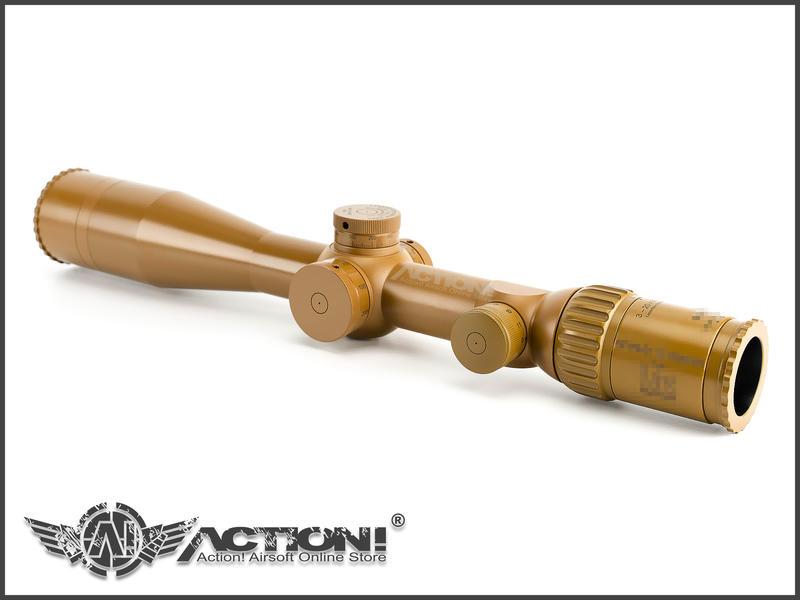 【ACTION! Custom】北川光学製造所 - G28型 PM II DMR 內紅光狙擊鏡 全仿真特仕版《現貨》