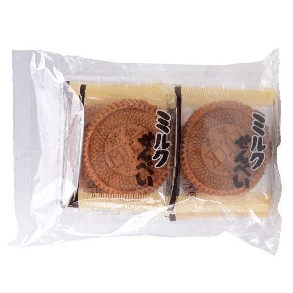 【日本百貨】船岡牛奶煎餅 20枚入 日本懷舊零食 粗菓子 滋養美味 牛奶餅 童年零嘴 日本原裝進口