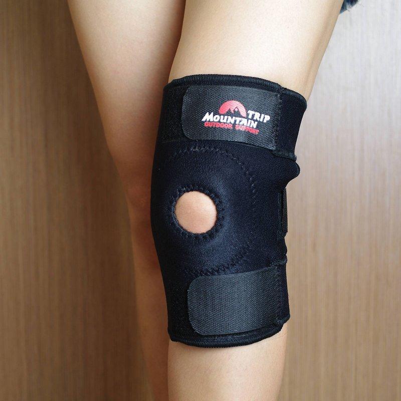 BestHunt@山行Mountain Trip 3+1款魔鬼粘彈性運動護膝,保護膝蓋適騎自行車登山跑步走路健行避運動傷害,另有護肘護腕護腰