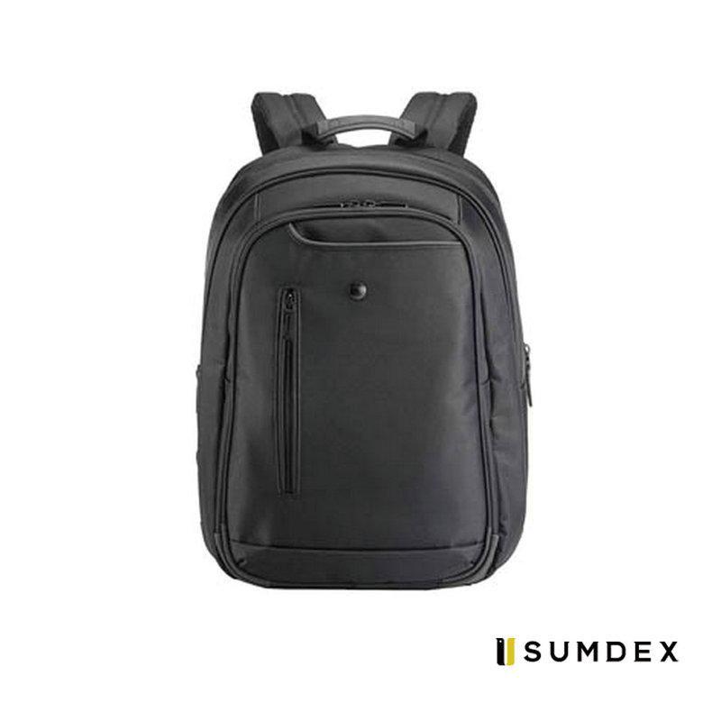 加賀皮件 SUMDEX 核心蔓延 先鋒背包 高級防潑水 可固定於拉桿 15吋電腦 / 休閒後背包 NON150
