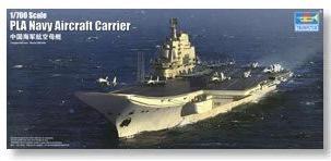 Trumpeter 小號手 1/700 中國 解放軍 遼寧號 航空母艦 中國海軍 組裝模型 塑膠模型