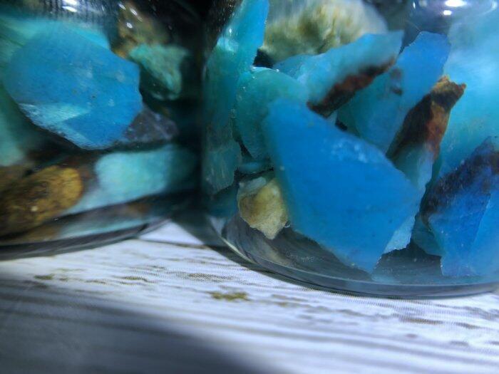 大瓶台灣藍寶/藍玉髓 都蘭山老礦 帶有玻璃質地 數量有限 收集很久藍寶原礦觀賞石 美石 東海岸玉石 花東玉石 本土玉石