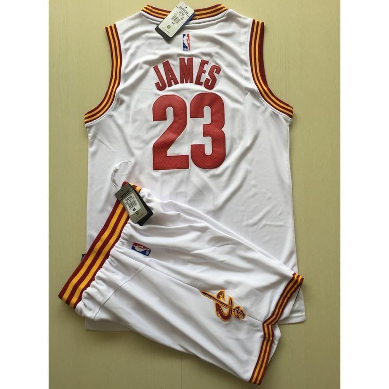 現貨 NBA球衣 騎士隊 23號 JAMES 詹姆士 籃球服 白色 背心上衣 套裝 兒童球衣 成人球衣