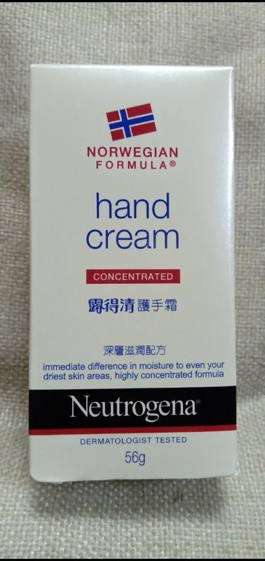 Neutrogena 露得清 護手霜 56g。深層滋潤配方~有香~(效期: 2023/8/6) 現貨:12個