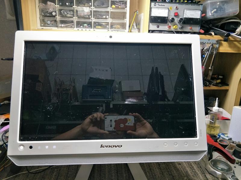 二手Lenovo.   型號10077 個人電腦
