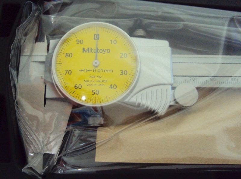 【恩成機械】505-732(681)附錶卡尺0-150/0.01(日本三豐)
