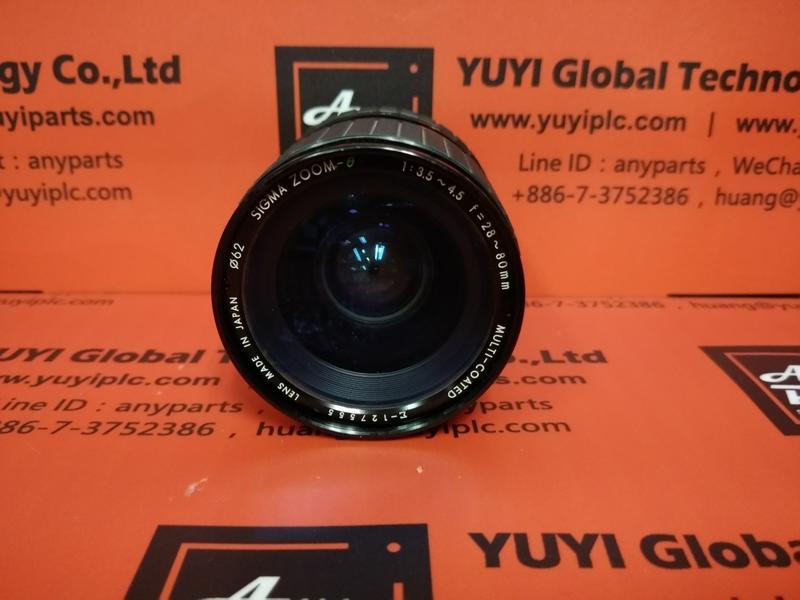 SIGMA ZOOM-θ 1:3.5-4.5 F=28-80mm ε-127555 Macro Camera Lens